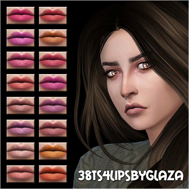 Lips #38 at All by Glaza image 777 Sims 4 Updates
