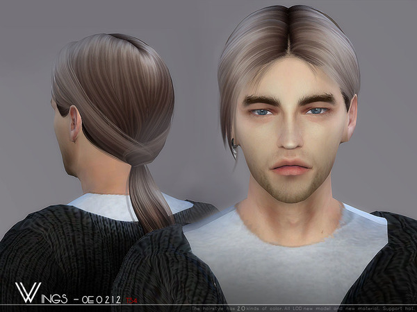 Hair OE0212 by wingssims at TSR image 778 Sims 4 Updates