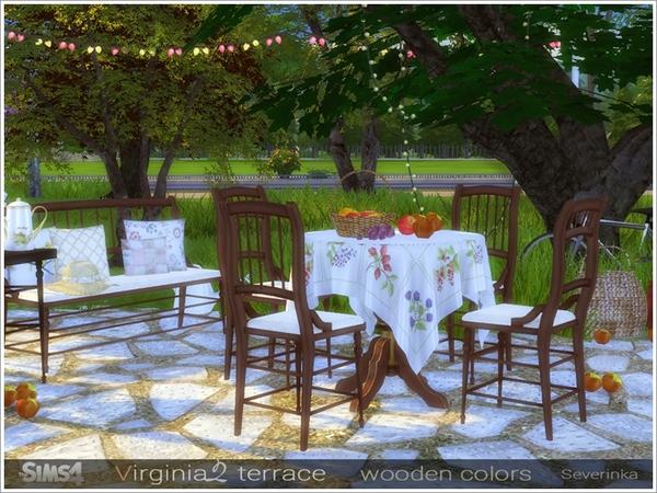 Virginia II terrace by Severinka at TSR image 7818 Sims 4 Updates