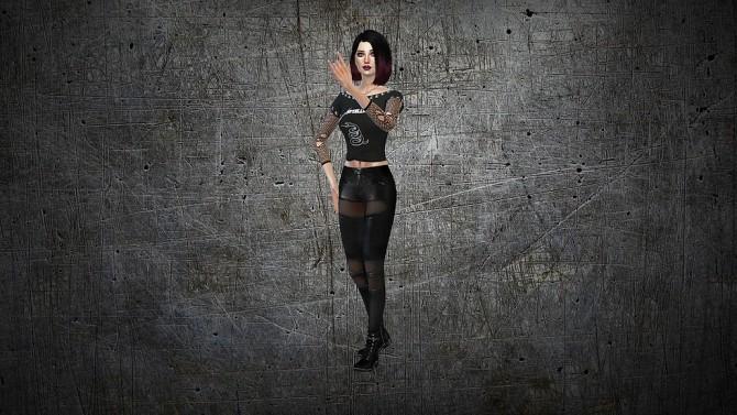 Grey CAS Background at CatySix image 789 670x377 Sims 4 Updates