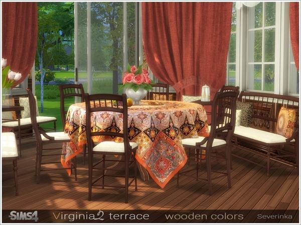 Virginia II terrace by Severinka at TSR image 7918 Sims 4 Updates