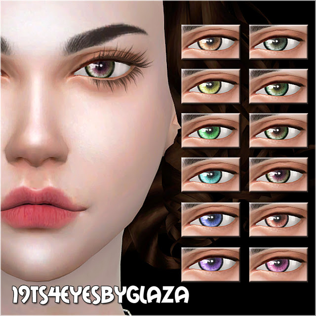 Eyes #19 at All by Glaza image 805 Sims 4 Updates