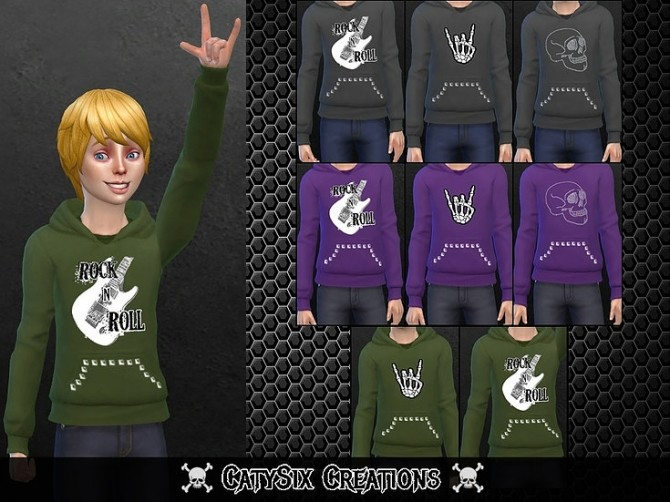 8 Sweatshirts For Kids V1 at CatySix image 8113 670x502 Sims 4 Updates