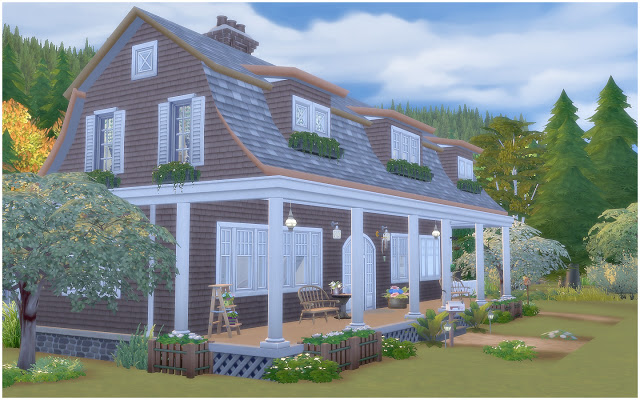 House 34 Gambrel Cottage at Via Sims image 8114 Sims 4 Updates