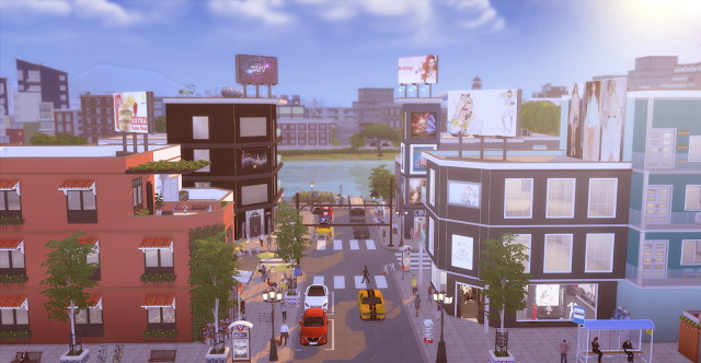Centro Comercial San Myshuno at Lily Sims image 821 Sims 4 Updates