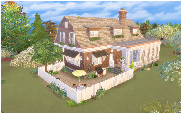 House 34 Gambrel Cottage at Via Sims image 8212 Sims 4 Updates