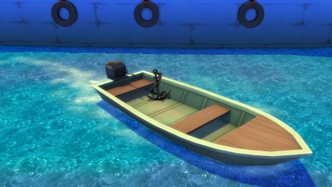 Sims 4 Ship Anchor Set Free by Snowhaze at Mod The Sims