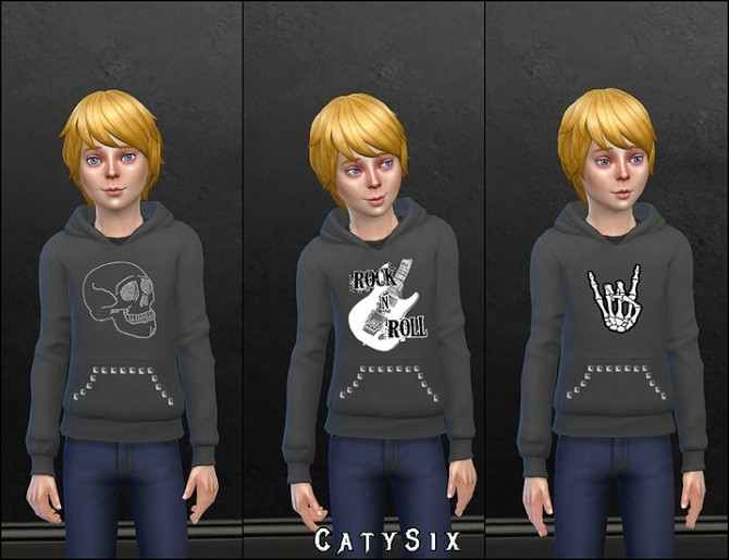 8 Sweatshirts For Kids V1 at CatySix image 839 670x515 Sims 4 Updates