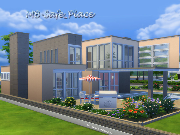 MB Safe Place home by matomibotaki at TSR image 840 Sims 4 Updates