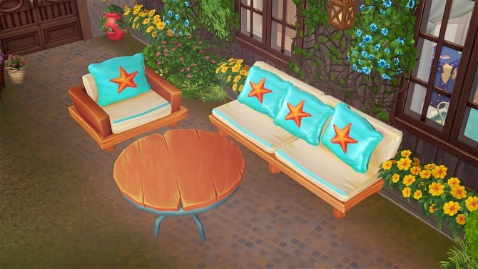 Colorful outdoor set conversion at Josie Simblr image 8514 670x377 Sims 4 Updates