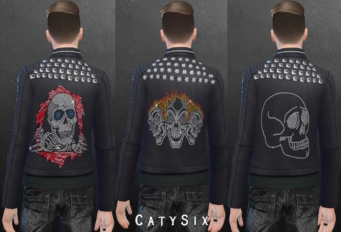 Rocker Jacket Male Version 1 at CatySix image 859 670x456 Sims 4 Updates