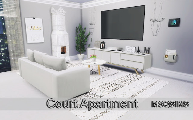 Court Apartment at MSQ Sims image 863 Sims 4 Updates