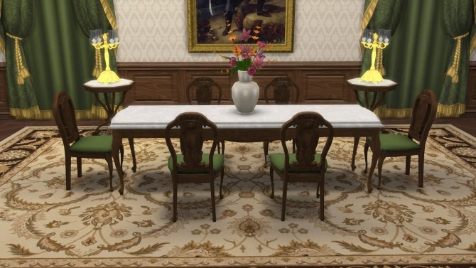 Storybook Set Living & Dining Rooms from TS3 by TheJim07 at Mod The Sims image 8717 670x377 Sims 4 Updates