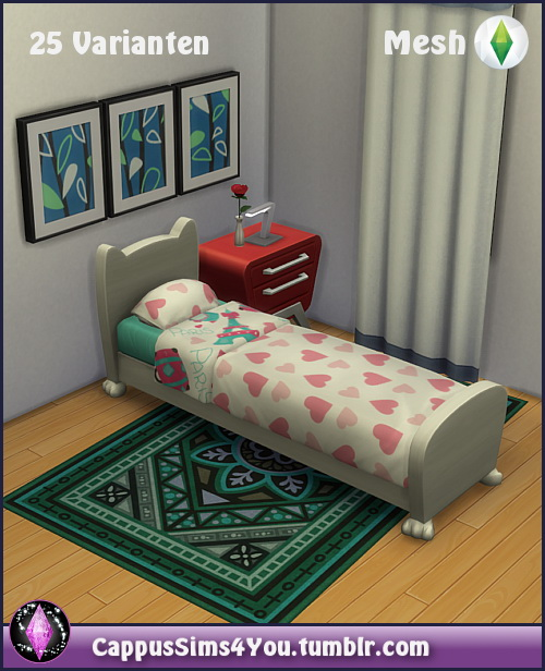 Mattress Love at CappusSims4You image 879 Sims 4 Updates