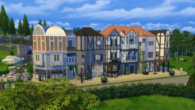 Little Old Town at Meryanes Sims image 8818 670x377 Sims 4 Updates