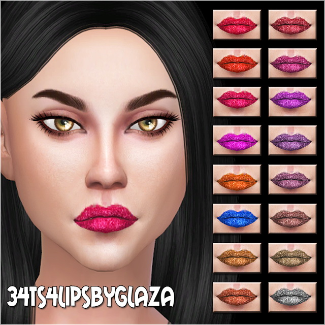 Lips #34 at All by Glaza image 883 Sims 4 Updates