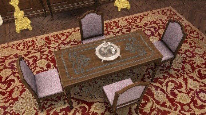 French Dining Table & Chair from TS3 by TheJim07 at Mod The Sims image 888 670x377 Sims 4 Updates