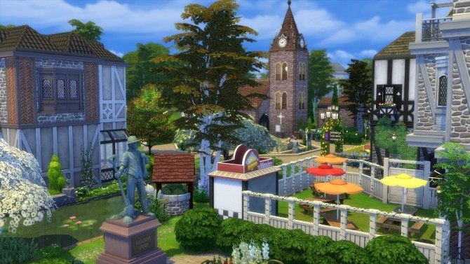 Little Old Town at Meryanes Sims image 8918 670x377 Sims 4 Updates