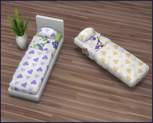 Mattress Love at CappusSims4You image 898 Sims 4 Updates