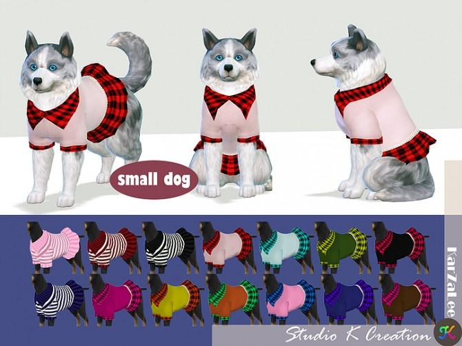 Small dog dress N1 at Studio K Creation image 899 670x502 Sims 4 Updates