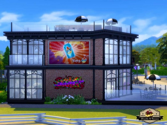 Sims 4 Pub La Salchipapa (No CC) by mamba black at Mod The Sims