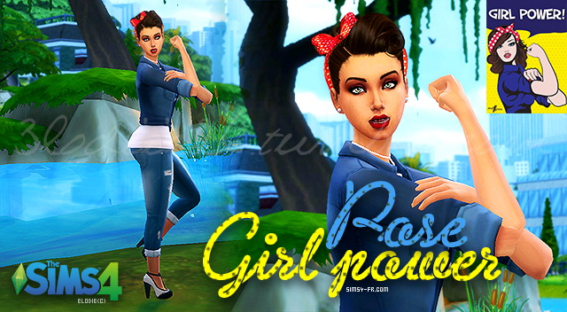 Girl Power We can do it ! poses by 3lodiie at Sims 4 Fr image 916 Sims 4 Updates