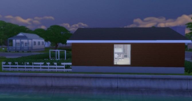 Ultra Modern Tiny House by NoteCat at Mod The Sims image  Sims 4 Updates