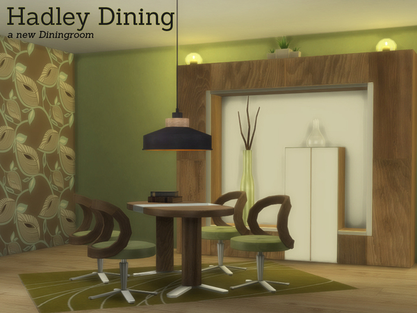 Hadley Dining by Angela at TSR image 920 Sims 4 Updates