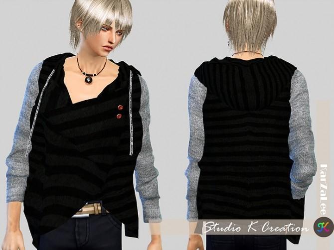 Giruto 47 Draped Neck top at Studio K Creation image 9211 670x502 Sims 4 Updates