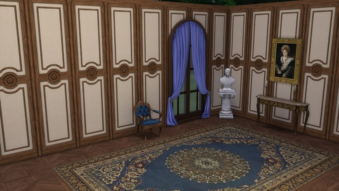Sims 4 Wood Paneling Walls from TS3 by TheJim07 at Mod The Sims