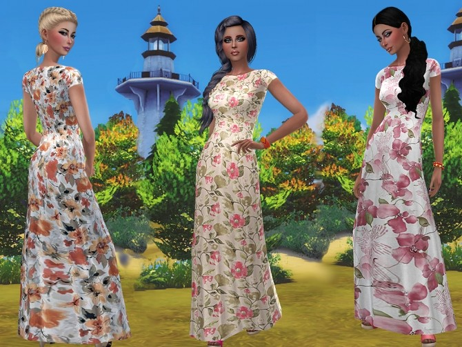Veronica dress by Simalicious at Mod The Sims image 9314 670x503 Sims 4 Updates
