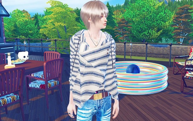 Giruto 47 Draped Neck top at Studio K Creation image 9510 670x422 Sims 4 Updates