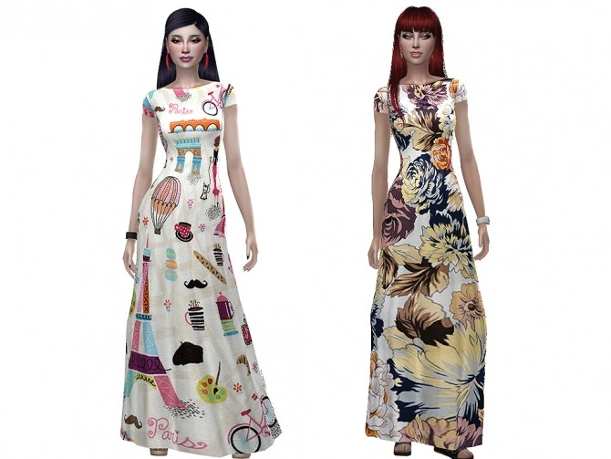 Veronica dress by Simalicious at Mod The Sims image 9514 670x503 Sims 4 Updates