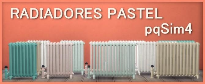 Sims 4 Pastel Radiators at pqSims4