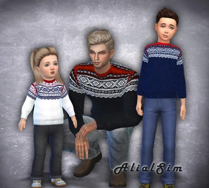 Marius Sweater at Alial Sim image 959 670x603 Sims 4 Updates