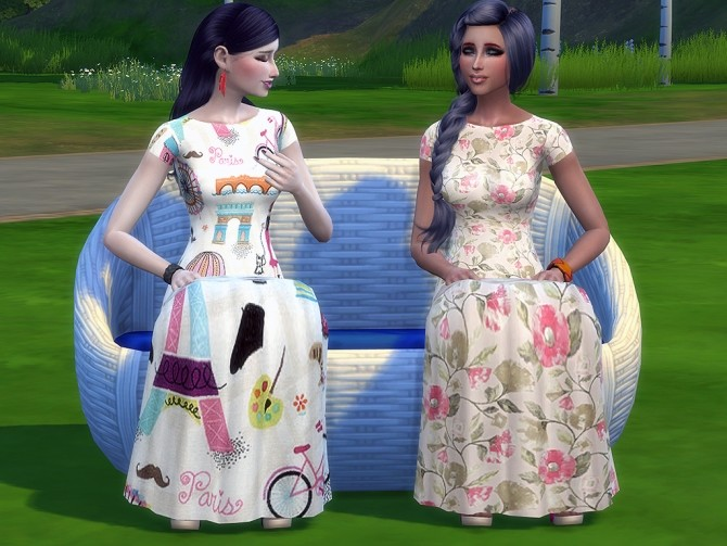 Veronica dress by Simalicious at Mod The Sims image 9614 670x503 Sims 4 Updates