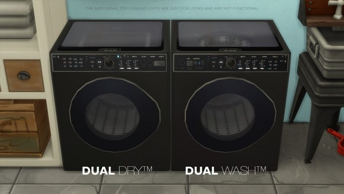 DualWash DualDry by littledica at Mod The Sims image 968 670x377 Sims 4 Updates