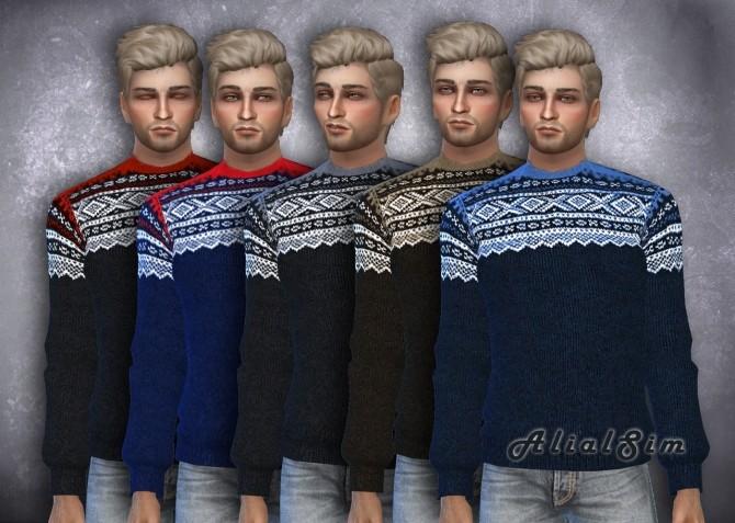 Marius Sweater at Alial Sim image 978 670x477 Sims 4 Updates