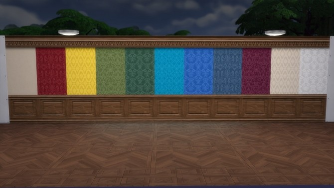 Wall with Rectangular Wainscot from TS3 by TheJim07 at Mod The Sims image 9813 670x377 Sims 4 Updates