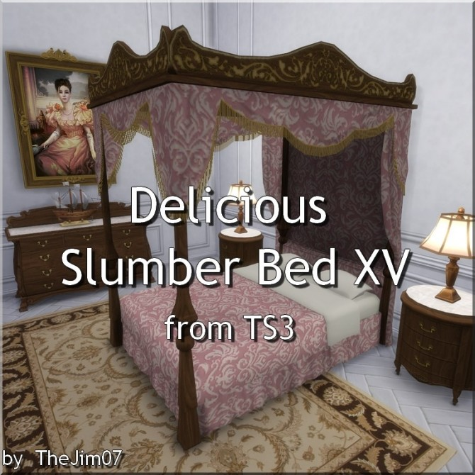 Delicious Slumber Bed XV from TS3 by TheJim07 at Mod The Sims image 998 670x670 Sims 4 Updates