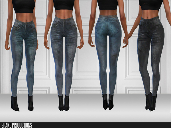 Sims 4 116 Jeans by ShakeProductions at TSR