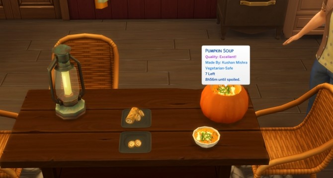 Pumpkin Recipes Soup and Roll by icemunmun at Mod The Sims image 10113 670x359 Sims 4 Updates
