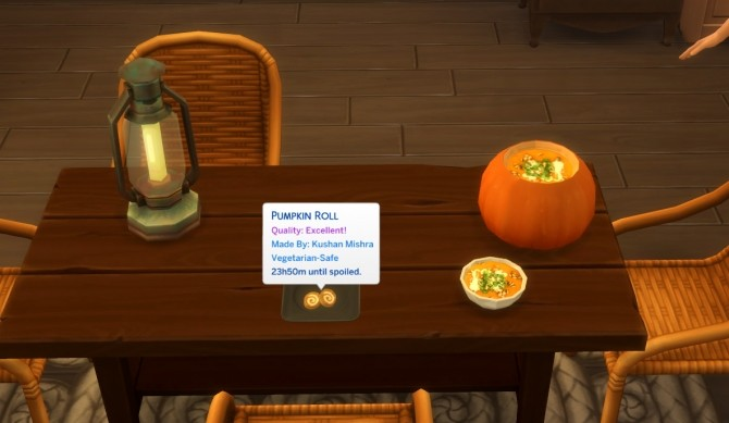 Pumpkin Recipes Soup and Roll by icemunmun at Mod The Sims image 10211 670x389 Sims 4 Updates