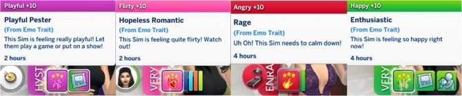 Emo Trait by GoBananas at Mod The Sims » Sims 4 Updates