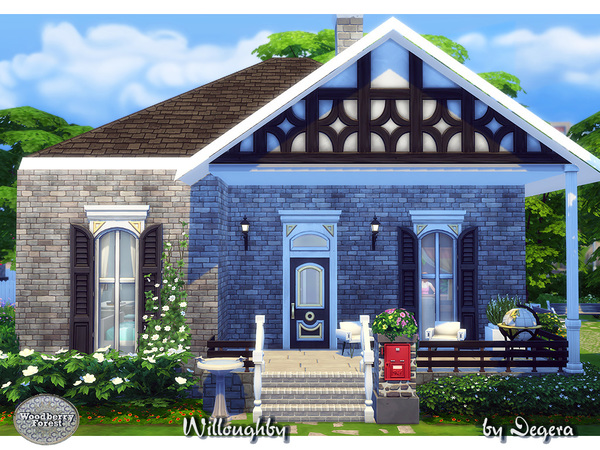 Willoughby house by Degera at TSR image 1029 Sims 4 Updates