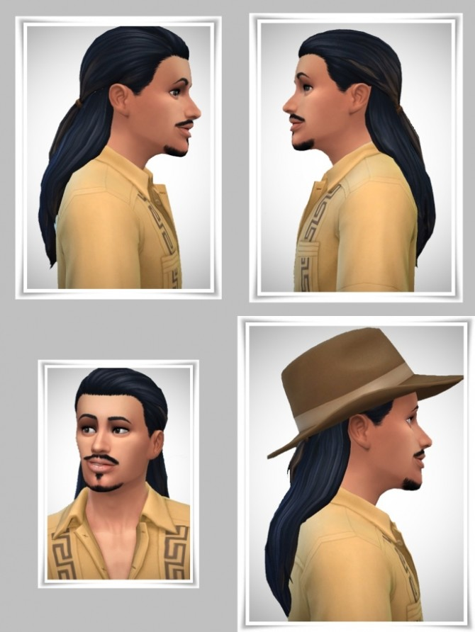 JohnnyW's Ponytail hair at Birksches Sims Blog image 1032 670x892 Sims 4 Updates