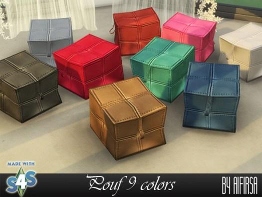 Sims 4 Poof 9 colors at Aifirsa