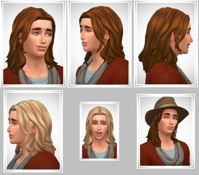 Sims 4 Emil's TeenHair both Genders at Birksches Sims Blog