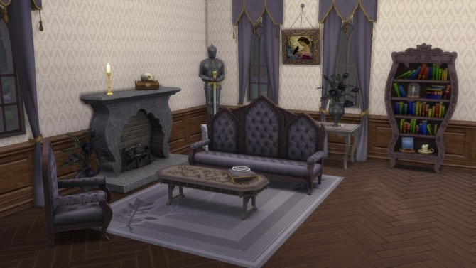 Gothic Set from TS3 by TheJim07 at Mod The Sims image 1058 670x377 Sims 4 Updates