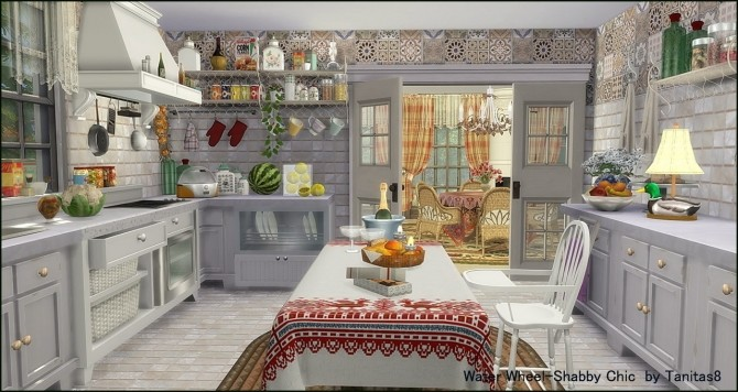 Water Wheel Shabby Chic at Tanitas8 Sims image 1066 670x356 Sims 4 Updates